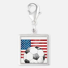 USA Soccer Charms