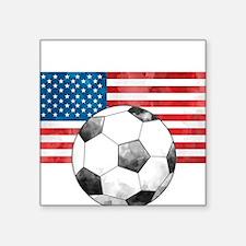 USA Soccer Sticker