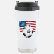 USA Soccer Travel Mug