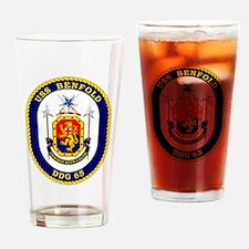 DDG-65 USS Benfold Drinking Glass