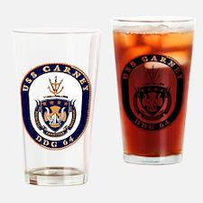 DDG-64 USS Carney Drinking Glass