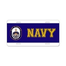 DDG-64 USS Carney Aluminum License Plate