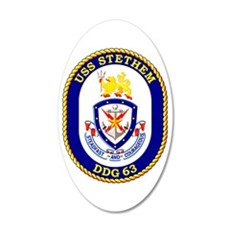 DDG-63 USS Stethem Wall Decal