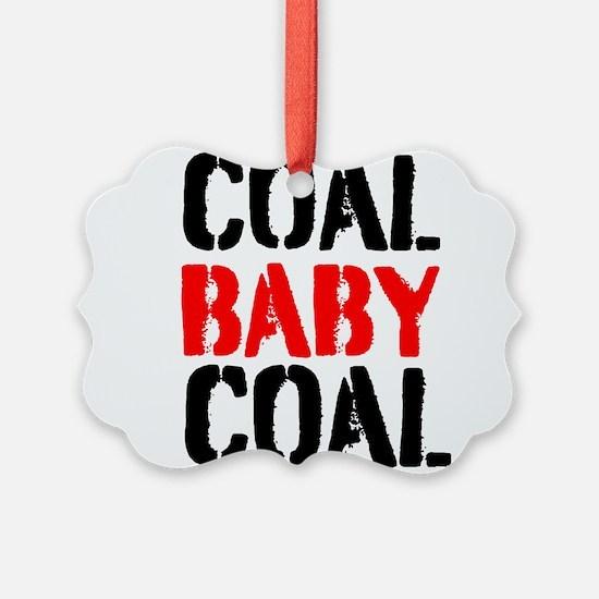 Coal Baby Coal Ornament