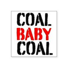 Coal Baby Coal Sticker