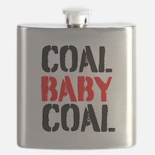 Coal Baby Coal Flask