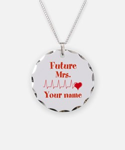 Personalizable Future Mrs. _ Necklace