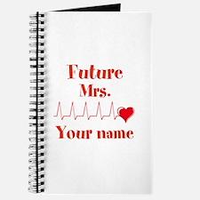 Personalizable Future Mrs. __ Journal