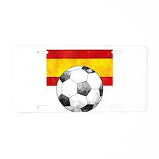Spain Futbol Aluminum License Plate