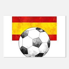 Spain Futbol Postcards (Package of 8)