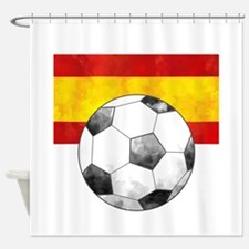 Spain Futbol Shower Curtain