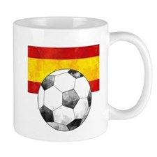 Spain Futbol Mugs