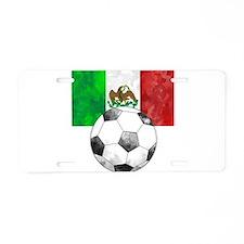 Mexico Futbol Aluminum License Plate