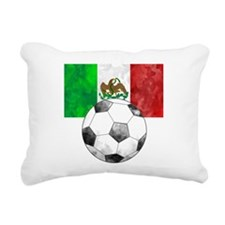Mexico Futbol Rectangular Canvas Pillow