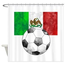 Mexico Futbol Shower Curtain