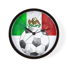 Mexico Futbol Wall Clock