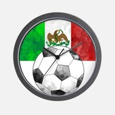 Mexico Futbol Wall Clock