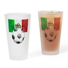 Mexico Futbol Drinking Glass