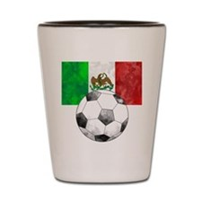 Mexico Futbol Shot Glass