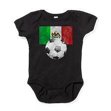 Mexico Futbol Baby Bodysuit
