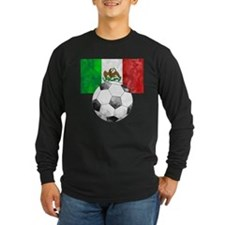 Mexico Futbol Long Sleeve T-Shirt