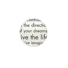 Cute Choose life Mini Button (10 pack)