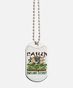 Cajun Homeland Security Dog Tags