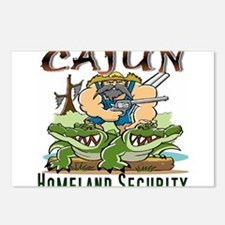 Cajun Homeland Security Postcards (Package of 8)