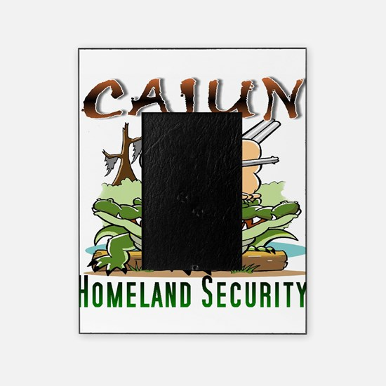 Cajun Homeland Security Picture Frame