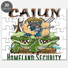 Cajun Homeland Security Puzzle