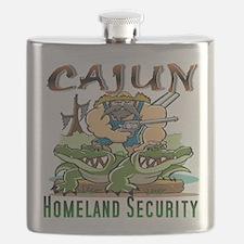 Cajun Homeland Security Flask