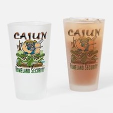 Cajun Homeland Security Drinking Glass