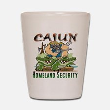 Cajun Homeland Security Shot Glass