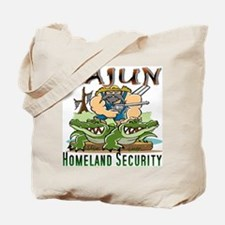 Cajun Homeland Security Tote Bag