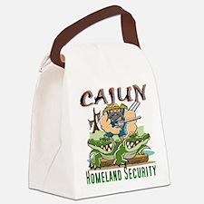 Cajun Homeland Security Canvas Lunch Bag