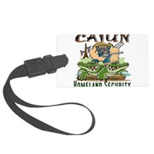Cajun Homeland Security Luggage Tag