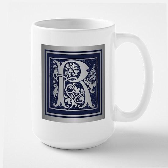 Romanesque Monogram R Mugs