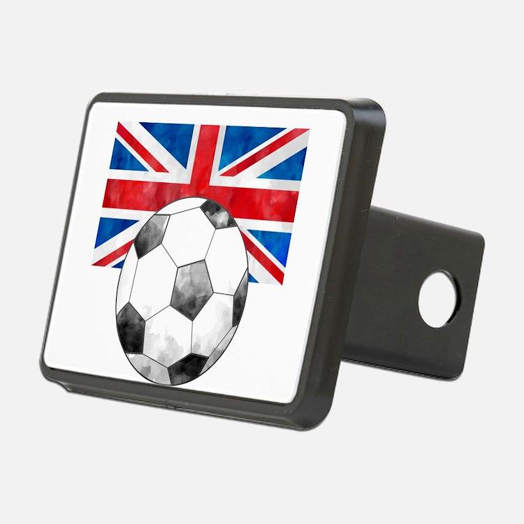 British Football Art Hitch Cover