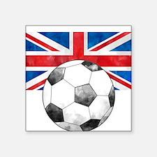 British Football Art Sticker