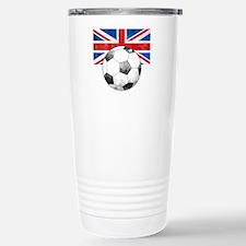 British Football Art Travel Mug