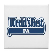 WB Dad [Calabrese] Tile Coaster