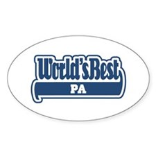 WB Dad [Calabrese] Oval Decal