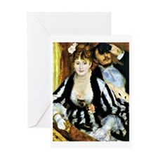 Renoir - The Theater Box Greeting Card