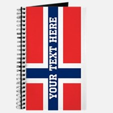 Personalize Flag of Norway Journal