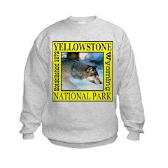 Yellowstone National Park Wol Sweatshirt