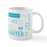 Writer Standard Mugs (11 Oz)