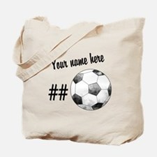 Soccer Art Tote Bag