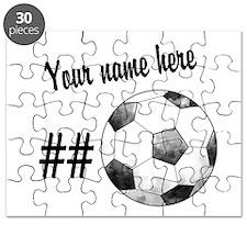 Soccer Art Puzzle