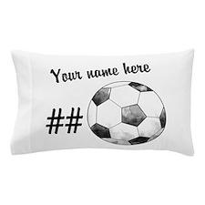 Soccer Art Pillow Case
