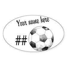 Soccer Art Stickers